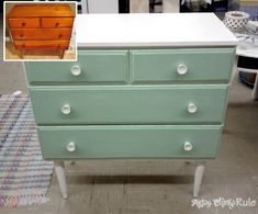 "A Collection of ""Before & After"" Furniture Pieces / #chalkpaint #furniture #diy"