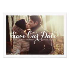 Calligraphy Love | Save the Date Announcement
