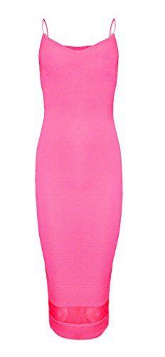 Womens Strap Mesh Panel Pencil Midi Dress (MTC) ((us 4) (uk 8), neon pink) vip http://www.amazon.com/dp/B00L7TMPVU/ref=cm_sw_r_pi_dp_Bk5aub1GSAT93