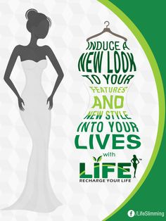 Induce a new #look to your #features and new #style into your lives with Life slimming and cosmetic clinic cosmetics.