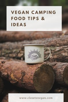 Vegan camping food ideas and tips - Close to Vegan#vegancampingideas #vegancampingfood Chickpea Snacks, Vegan Snacks, Vegan Recipes, Vegan Ideas, Camping Menu, Camping Food Vegan, Camping Foods, Backpacking Food, Camping Ideas