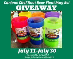 #Win a Root Beer Float Mug Set Ends 7/30