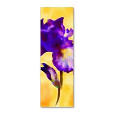 Purple Iris (flower) Bookmarks Double-Sided Mini Business Cards (Pack Of 20). Make your own business card with this great design. All you need is to add your info to this template. Click the image to try it out!