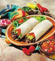 Compassion Over Killing > Easy Vegetarian Recipes: Dinner Black Bean Burritos