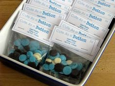 cute as a button baby shower | Cute As A Button Baby Shower! {Home Sweet Home} | Oopsey Daisy