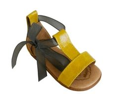 These teeny sandals are super-cute!