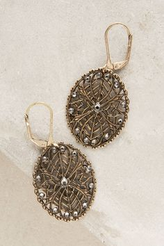 at anthropologie Lace-Draped Drops