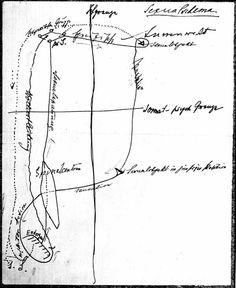 """Sigmund Freud, Sexualschema, 1895. En el """"Manuscrito G"""", enviado a Wilhelm Fliess."""