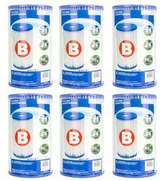 Intex Filteranlage - 6er Filterkartusche