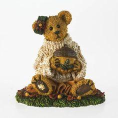 Amazon.com - Boyds Bears Lazy Autumn Days Figurine - Collectible Figurines+