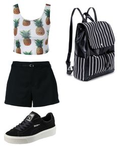 """Untitled #611"" by lydiaubblegum on Polyvore featuring Loveless and Puma"