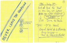 NOTES FROM THE ROAD: Chef Paul Bartolotta of Bartolotta Ristorante Di Mare at The Cosmopolitan Las Vegas prepare Amy Rossetti, PR director at the hotel, for her trip to Italy (Rome > Amalfi Coast > Florence > Rome). Pavia, who was with Amy for the Amalfi Coast leg, contributed her notes. See the full story. Read more on Fathom.