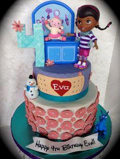 Doc McStuffins - by Prettycupcake @ CakesDecor.com - cake decorating website