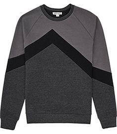 Mens Grey/black Tona #menfitness #mensfitness #mensports #sweatshirts #hoodies #fitmen