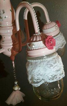 Check out this item in my Etsy shop https://www.etsy.com/listing/264486729/mason-jar-chandelier-mason-jar-light