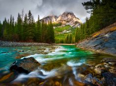 ***Kananaskis River (Alberta) by Dylan Toh & Marianne Lim on 500px