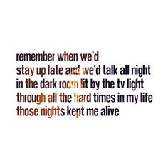 Those Nights -Skillet