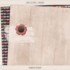 Quality DigiScrap Freebies  ~~~Dawn by Design Love Letters