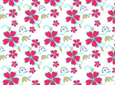 """Floral Pattern"" by sk8erchic8911"