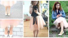 Spódnica tiulowa – jak uszyć DIY