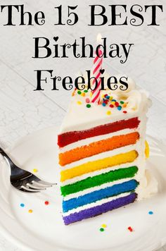 Not all birthday freebies are worth signing up for — however, all of these are! Be sure to check these out for the best birthday month ever — lots of free meals!