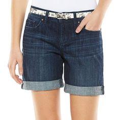 8f21f13bb9e64 ELLE™ Cuffed Jean Shorts - Women s. Jeans For Short WomenJean ShortsSummer  DreamSimply VeraPlus ...