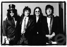Slash, Ronnie Wood, Ozzy Osbourne and Jeff Beck