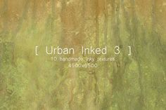 Urban Inked Backgrounds 3 by TheUrbanLine on @creativemarket