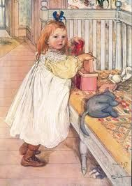 Carl Larsson -oh my...love her look