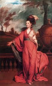 not Georgiana, duchess of devonshire--it's Jane (Fleming) Stanhope. Countess of Harrington, by Sir Joshua Reynolds, at The Huntington, CA