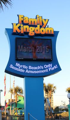 Spring is right around the corner and Family Kingdom Amusement Park in Myrtle Beach, South Carolina will be opening in March! Get ready to ride your favorite and check out the area's other amusements and attractions!  http://www.visitmyrtlebeach.com/things-to-do/attractions/