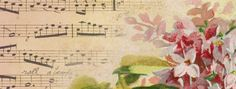 Spring Lilacs & Music ~ FB cover photo