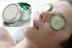 Learn here how to make Soothing Cucumber, Chamomile and Aloe Vera Gel for Tired Eyes.