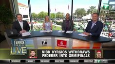 LIVE today on Tennis Channel: Jack Sock v Kei Nishikori followed by men's doubles semifinal --> watch on Tennis Channel and tennischanneleverywhere.com