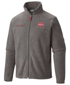 Columbia Men's Nebraska Cornhuskers Flanker Full-Zip Jacket