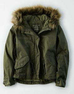 NWT Women/'s American Eagle Hooded Military Parka Vest Jacket Coat Pink S XL NEW