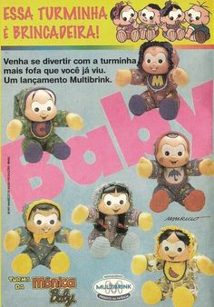 Turma da Mônica Baby #infância #nostalgia