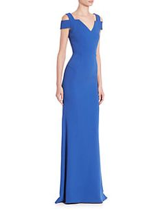 Roland Mouret - Nansen Cold-Shoulder Gown