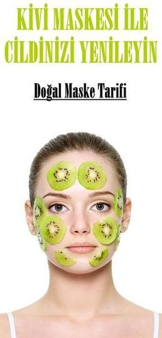 7 Homemade Kiwi Face Masks for Younger Looking Skin - Face Mask Face Scrub Homemade, Homemade Face Masks, Homemade Skin Care, Kiwi, Younger Skin, Younger Looking Skin, Face Mask For Spots, Dry Skin Causes, Face Mask For Blackheads