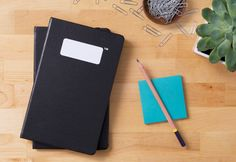 Black Hardcover Notebook Journal - 80 Pages | Brandless