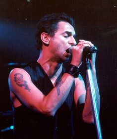 Dave Gahan of Depeche Mode during Paper Monsters solo tour