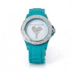 It's all about Hearts ♡ Green Colors, Blue Green, Aqua, Teal, Prada, Bracelet Watch, Fashion Jewelry, Watches, Bracelets