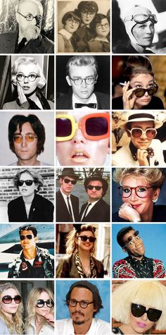 Glasses never go out of style