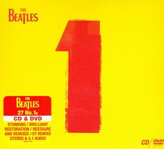 The Beatles - 1 on CD + DVD