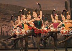 Miami City Ballet dancing Balanchine & Tharp