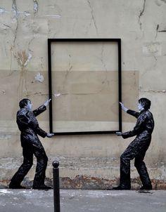 Street Art.  Paris