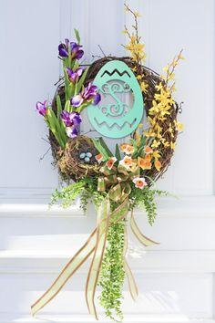 Monogram Egg - Blair's Jewelry & Gifts - www.shopblairs.com