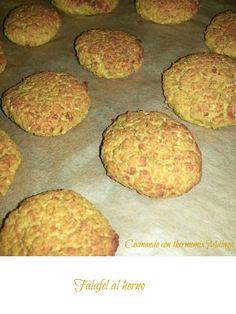 COCINANDO CON THERMOMIX MALAGA: Falafel al horno