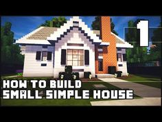 A small house easy to make in survival Minecraft Pinterest