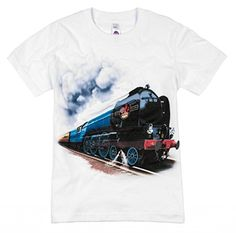 Shirts That Go Little Boys British Railroad Train TShirt 6 White >>> Check this awesome product by going to the link at the image.Note:It is affiliate link to Amazon.